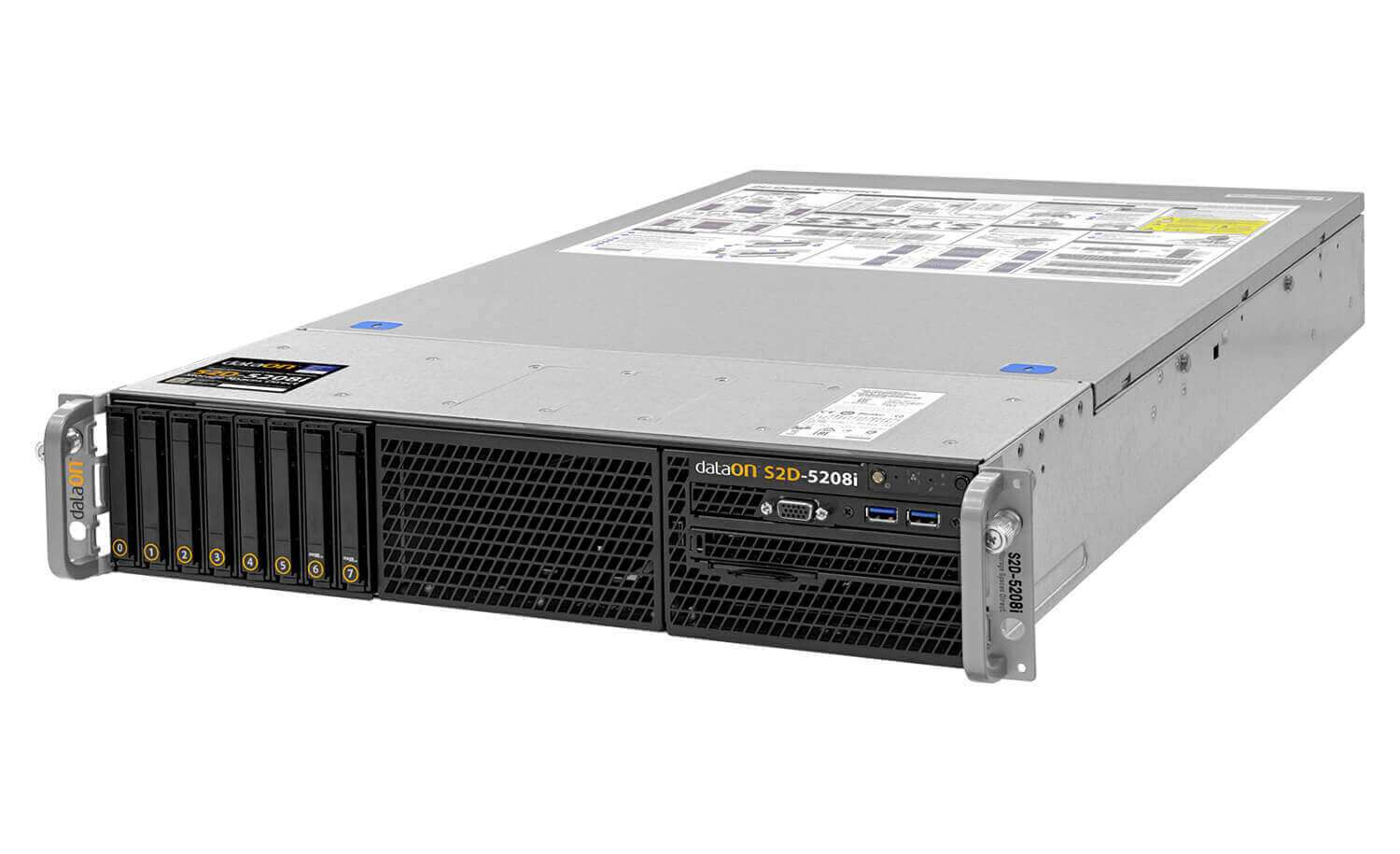 allsystems-producten-hyperconverged-systems-DataON_S2D-5208i_Front_Side_View