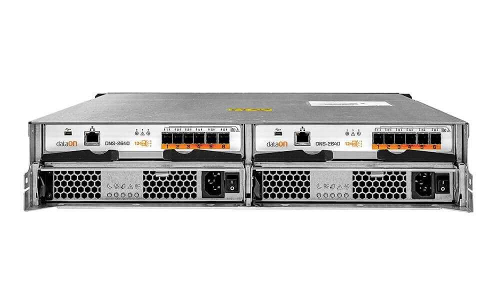 allsystems-producten-storage-DataON-DNS-2640_2U_24-bay_12Gbs_SAS_JBOD_Rear_View