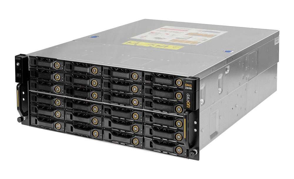 allsystems-producten-storage-DataON_Storage_DNS-2608_4U-32bay_Front_Side_View